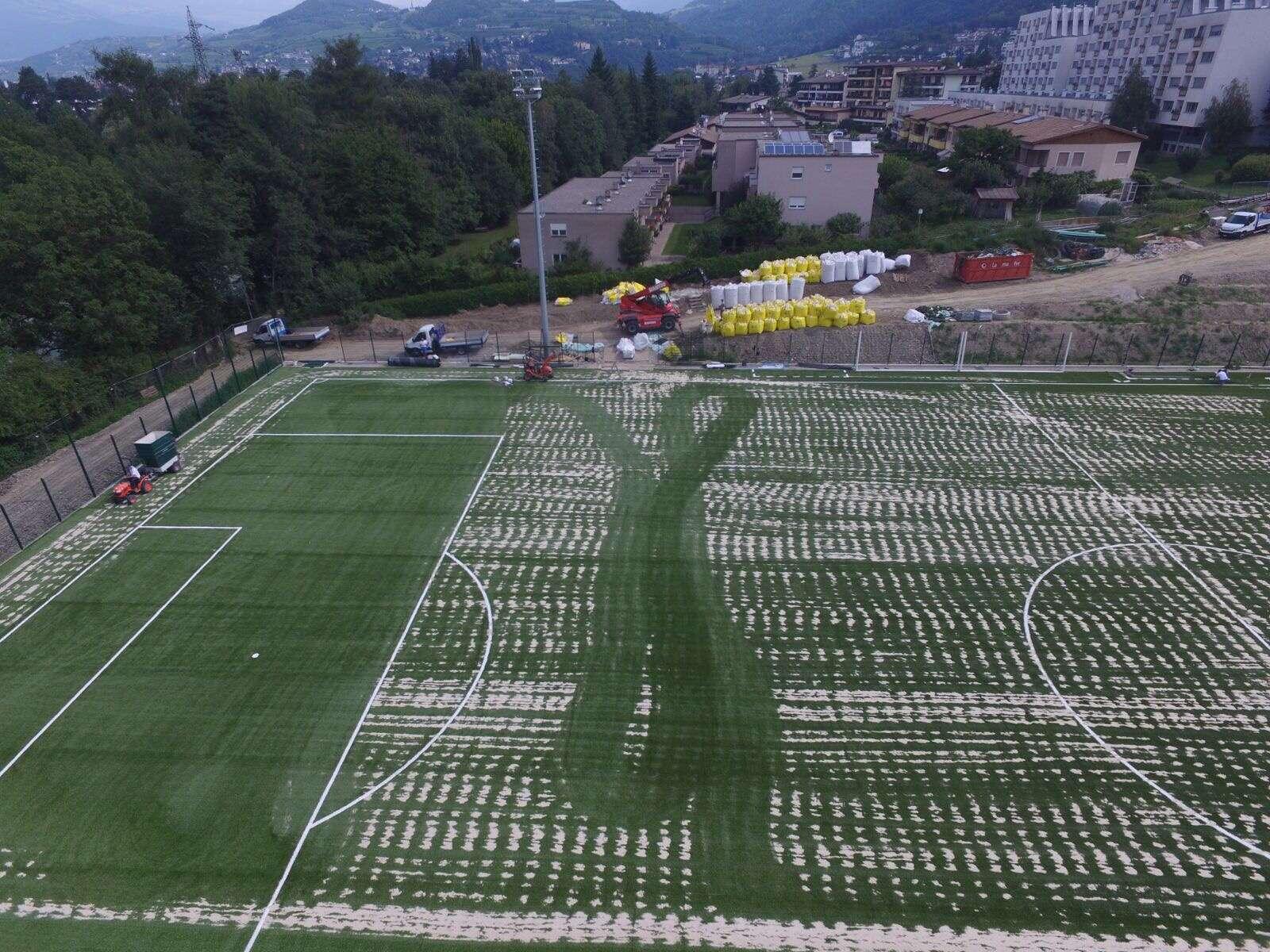 Bressanone (BZ) campo da calcio A11 Omologato - Lucon